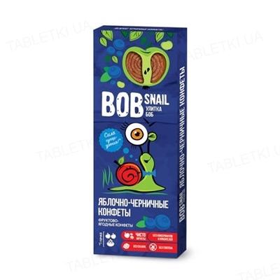 Цукерки Bob Snail яблучно-чорничні, 30 г