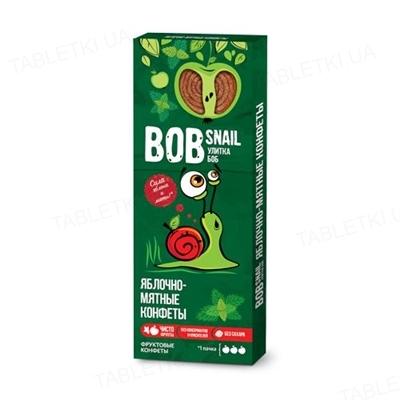 Конфеты Bob Snail яблочные с мятой, 30 г