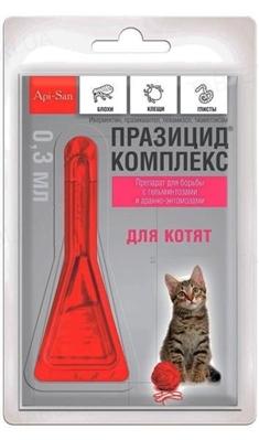 Празицид комплекс для котят, 1 пипетка по 0,30 мл