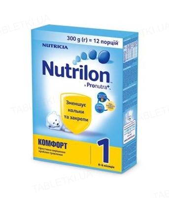 Сухая молочная смесь Nutrilon Комфорт 1 для питания детей от 0 до 6 месяцев, 300 г