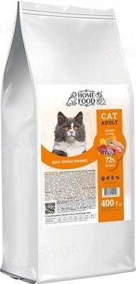 Корм сухой Home Food для привередливых котов с курицей и печенью, 400 г