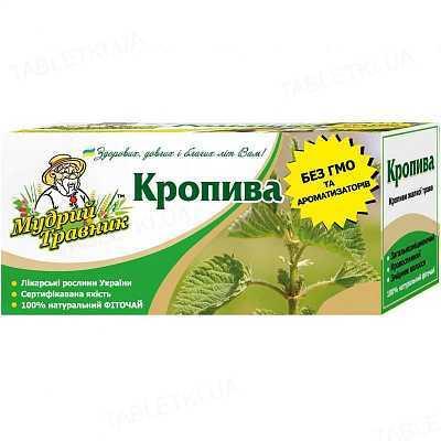 Фиточай Мудрый Травник Крапива по 1.2 г №20 в фил.-пак.