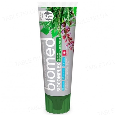 Зубная паста Biomed Biocomplex, 100 г