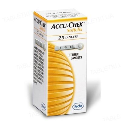 Ланцеты Accu-Chek Softclix, 25 штук