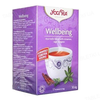 """Чай Yogi Tea """"Благополучие"""", 17 пакетиков"""