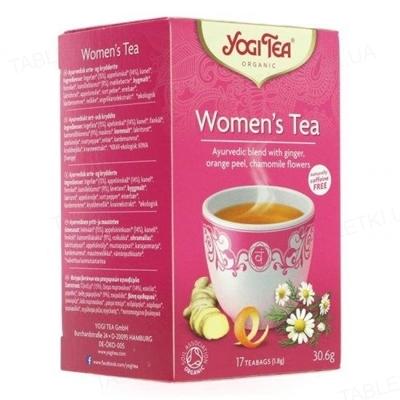 """Чай Yogi Tea """"Женский"""", 17 пакетиков"""