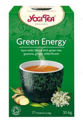 """Чай Yogi Tea """"Зеленая энергия"""", 17 пакетиков"""