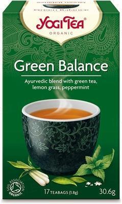 """Чай Yogi Tea """"Зеленый баланс"""", 17 пакетиков"""