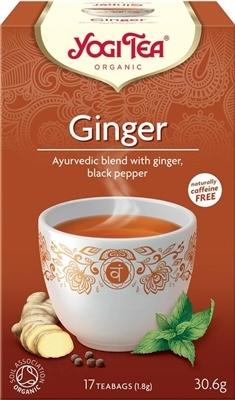 """Чай Yogi Tea """"Имбирь"""", 17 пакетиков"""