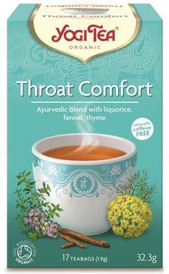 """Чай Yogi Tea """"Комфорт горла"""", 17 пакетиков"""