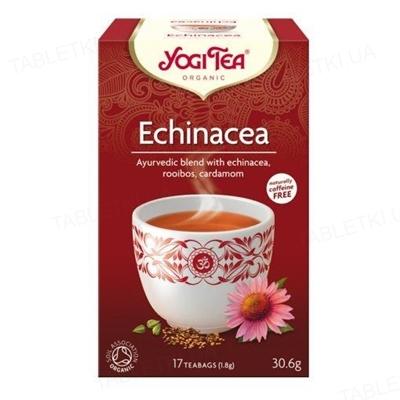 """Чай Yogi Tea """"Эхинацея"""", 17 пакетиков"""