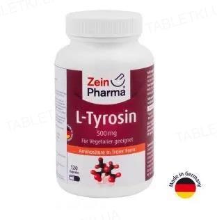 L-тирозин ZeinPharma капсулы по 500 мг №120