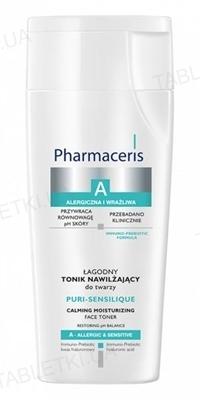 Тоник Pharmaceris A Puri-Sensilique нежный, увлажняющий для лица, 200 мл