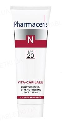 Крем Pharmaceris N Vita-Сapilaril увлажняющий укрепляющий для лица, SPF 20, 50 мл