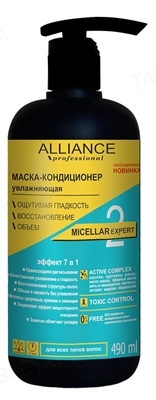 Маска-кондиционер Alliance Professional Micellar Expert увлажняющая, 490 мл