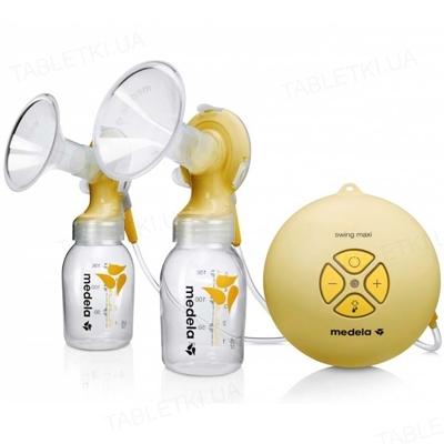 Молокоотсос Medela Swing maxi, двухфазный электрический,  + смарт соска Medela Calma