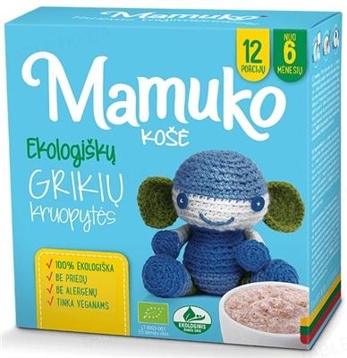 Крупа Mamuko Гречневая органическая, 240 г