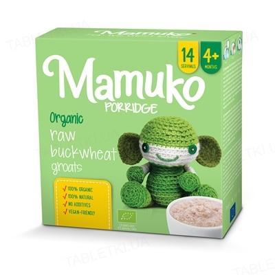 Крупа Mamuko Зеленая гречневая, органическая, 240 г