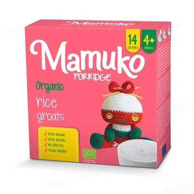Крупа Mamuko Рисовая, органическая, 240 г