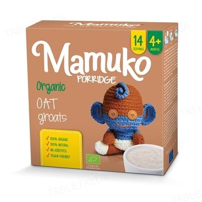 Крупа Mamuko Овсяная, органическая, 240 г