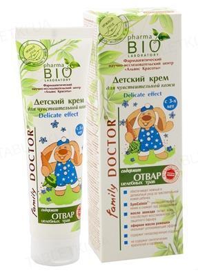 Крем детский Pharma Bio Laboratory Delicate effekt для чувствительной кожи, 100 мл