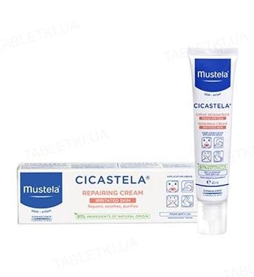Крем дитячий Mustela Cicastela  регенеруючий, 40 мл