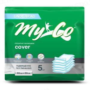 Пеленки гигиенические MyCo Cover 60 х 90 см, 5 штук