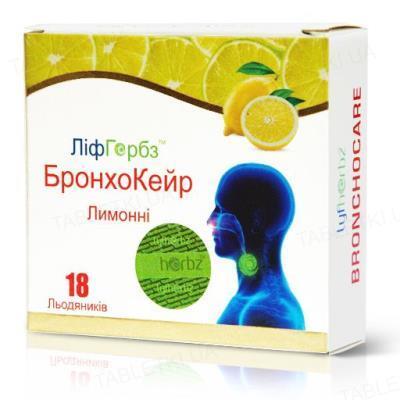 БронхоКейр Лимонные ЛифГербз леденцы №18 (9х2)