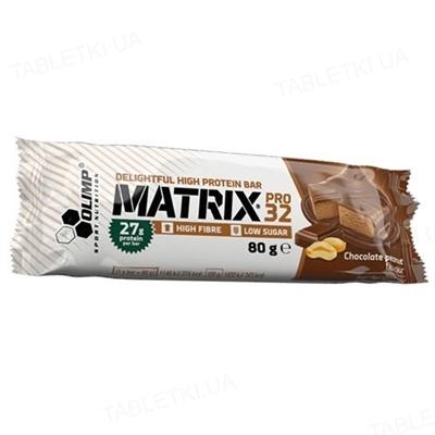 Батончик Olimp Matrix pro 32 шоколад-арахис, 80 г