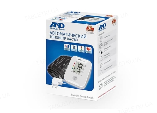 Тонометр AND UA-780 AC автоматический с сетевым адаптером