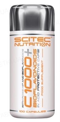 Витамины Scitec Nutrition Vit С1000+Bioflavonoid, 100 капсул