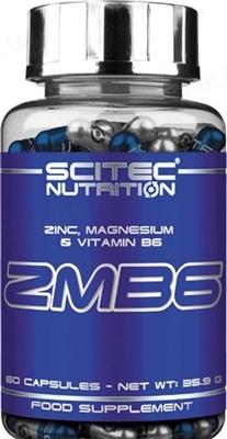 Анаболический комплекс Scitec Nutrition ZMB6, 60 капсул
