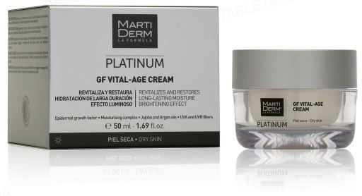 Крем для лица MartiDerm GF Vital-Age Cream Spf15 для сухой кожи, 50 мл