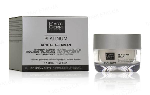 Крем для лица MartiDerm GF Vital-Age для нормальной и комбинированной кожи, 50 мл