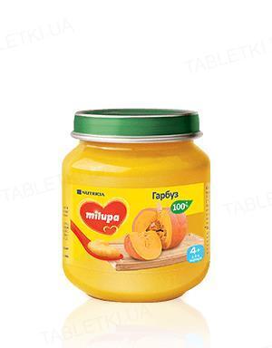 Овощное пюре Milupa Тыква для детей с 4 месяцев, 125 г