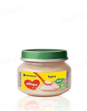 Мясное пюре Milupa Цыпленок для детей с 6 месяцев, 80 г