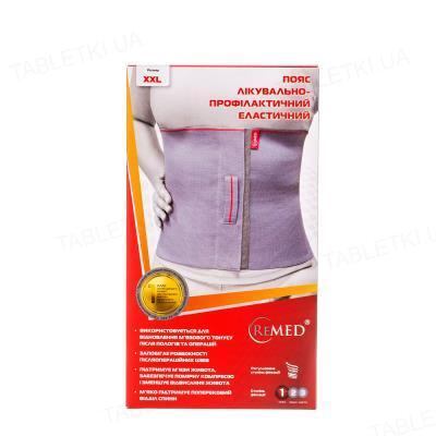 Пояс лечебно-профилактический ReMed R4103 эластичный, размер XXL