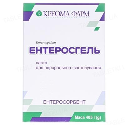 Энтеросгель паста д/перор. прим. 70 г/100 г по 405 г в конт.