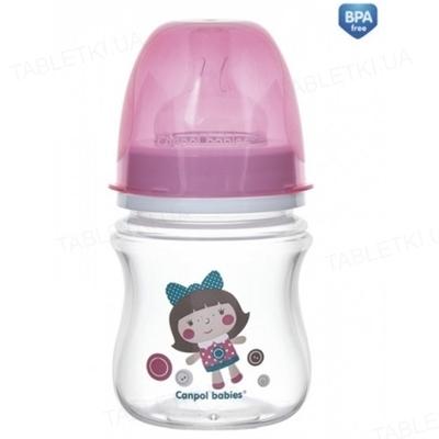 Бутылочка антиколиковая Canpol Babies EasyStart Toys 35/220_pin с широким отверстием, 120 мл
