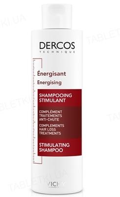 Шампунь Vichy Dercos тонизирующий с Аминексилом против выпадения волос, 200 мл