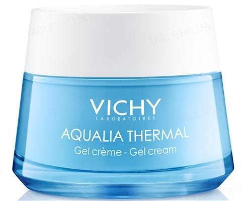 Гель-крем Vichy Aqualia Thermal для глубокого увлажнения для нормальной и комбинированной кожи, 50мл
