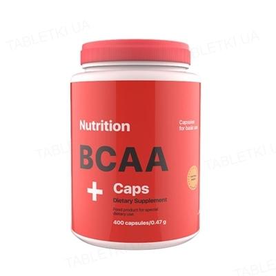 Аминокислота AB PRO ВСАА Caps, 400 капсул