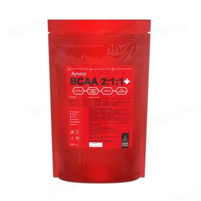 Аминокислотный комплекс AB PRO Amino BCAA 2:1:1+, манго, 400 г