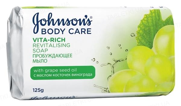 Мыло Johnson's Body Care Vita Rich пробуждающее с маслом косточек винограда, 125 г