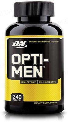 Витамины Optimum Nutrition Opti-Men, 240 таблеток
