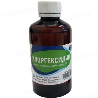 Хлоргексидин раствор д/наруж. прим. 0.05 % по 200 мл во флак. полим. с насад.