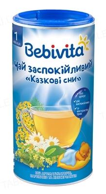 Сухой быстрорастворимый напиток Bebivita Чай успокоительный Сказочные сны, 200 г