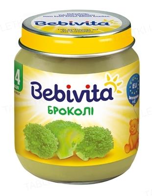 Овощное пюре Bebivita Броколли, 125 г