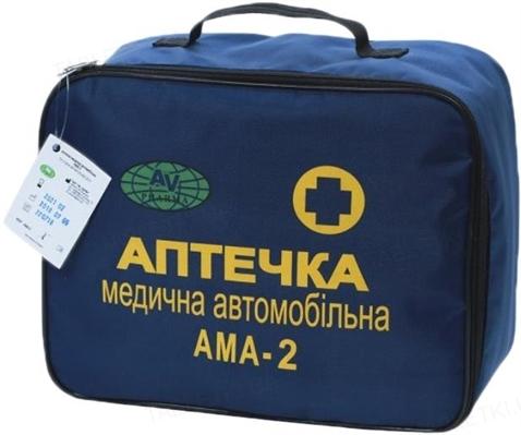 Аптечка медицинская автомобильная АМА-2