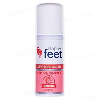 Аэрозоль для ног Happy Feet Контроль потливости с можжевельником, 70 мл